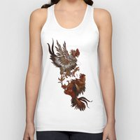 fight Tank Tops featuring FIGHT! by Josh Hoye