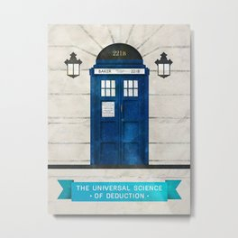 Doctor Who & Sherlock Metal Print