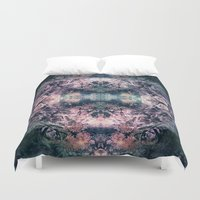 louis Duvet Covers featuring Louis Time by Truly Juel