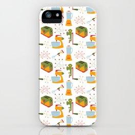 Retro Kitchen - Orange and Green iPhone Case
