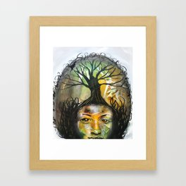 Afro 3 Framed Art Print