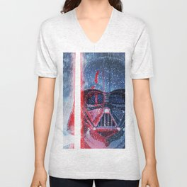 Darth Vader Storm Unisex V-Neck