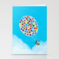 pixar Stationery Cards featuring Up - Disney/Pixar by Justine Shih