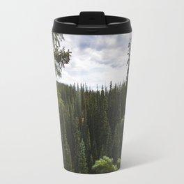 Trees of Ouray Travel Mug