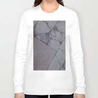 rocky Long Sleeve T-shirts featuring rocky by Amanda Stockwell