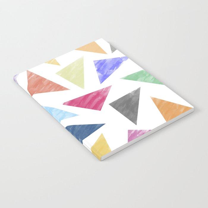 Colorful geometric pattern Notebook