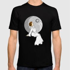 Sorrow of Leia MEDIUM Black Mens Fitted Tee
