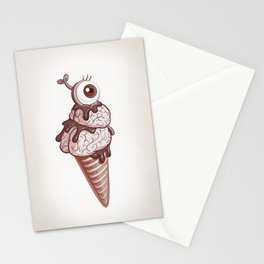 Zombice Cream Stationery Cards