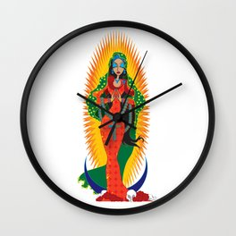 La Virgen de Guadalupe Wall Clock