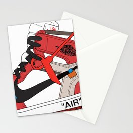 Jordan I poster Stationery Cards