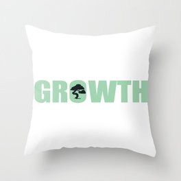 Growth Druid Magician Priest Roleplay RPG Throw Pillow