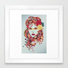 Bright Fashion Framed Art Print
