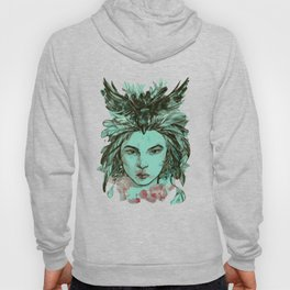 Crow queen Hoody