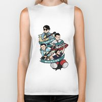 vampire weekend Biker Tanks featuring Vampire Weekend by Knifeson