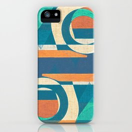 Mountains and Waves iPhone Case