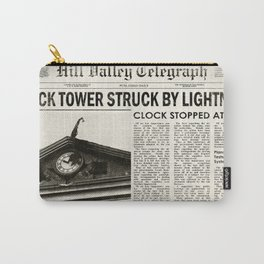 Hill Valley Telegraph - Back to the Future Carry-All Pouch