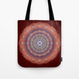 Blessing Mandala - מנדלה ברכה Tote Bag