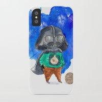 vader iPhone & iPod Cases featuring Vader by gunberk