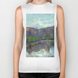 "Paul Gauguin ""Paysage de Bretagne (Britanny landscape)"" Biker Tank"