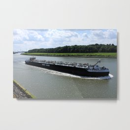 Rotterdam Canal Metal Print