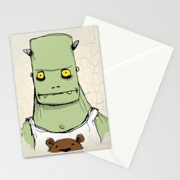 Monster & Teddy Stationery Cards