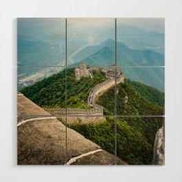 The Great wall of China Wood Wall Art