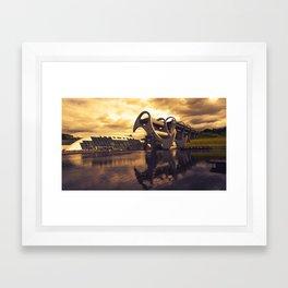 Wheel o Falkirk  Framed Art Print