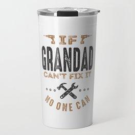 Gift for Grandad Travel Mug