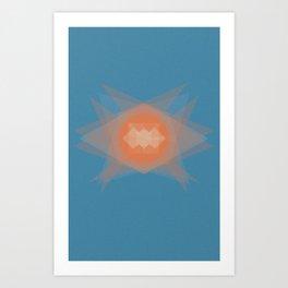 untitled shape 2 Art Print