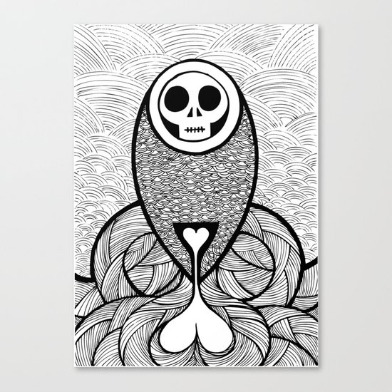 Coroner's Joke no.3 Canvas Print