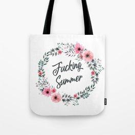 Fucking summer vintage pattern Tote Bag