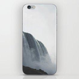 From below where all the water falls, Niagara 01 iPhone Skin