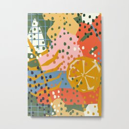Abstract Contemporary Print 083 - Botanical Illustration - Abstract Contemporary Print 067 - Metal Print