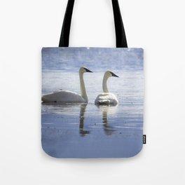 Trumpeter Swans Tote Bag