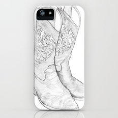 Cowboy Boots iPhone (5, 5s) Slim Case