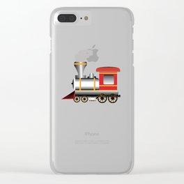 Train Clear iPhone Case