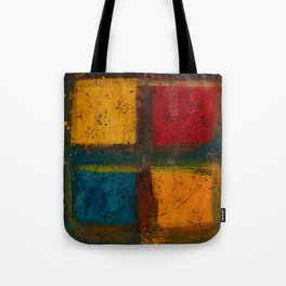 4 Square (Abstract) Tote Bag