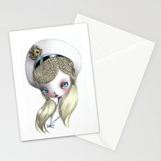 Girl in Uniform Stationery Cards