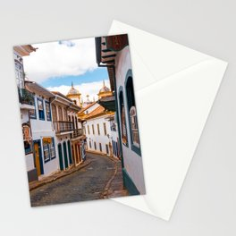 Magical Streets of Ouro Preto Stationery Cards