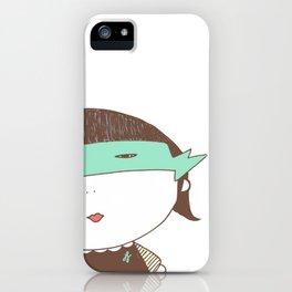 Girl Super Chocolate Love iPhone Case