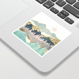 Summer Vista Sticker