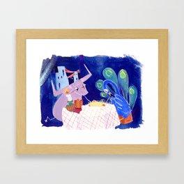 Altus and the Tal-Vashoth [Adoribull] Framed Art Print