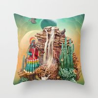 peru Throw Pillows featuring peru by Tanya_tk