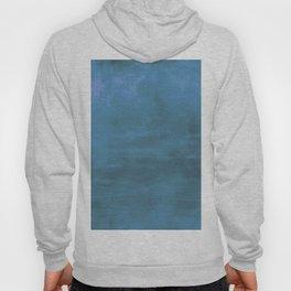 Burst of Blue & Purple Color Abstract Digital Illustration Hoody
