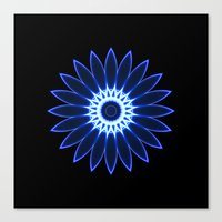 chakra Canvas Prints featuring Chakra by Mr. Pattern Man