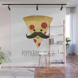 Popparoni Pizza Wall Mural