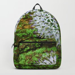 Globe Thistle. Backpack