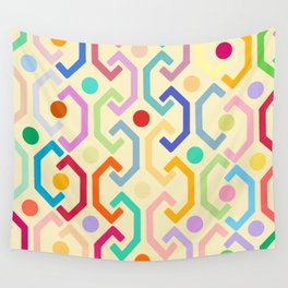 Ethnic Pattern (by day) Wall Tapestry