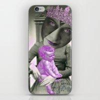 madonna iPhone & iPod Skins featuring LADY MADONNA by Julia Lillard Art