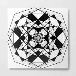 Mandala 0009 Metal Print